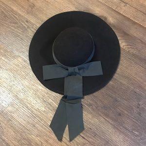 Dark Brown Wool Hat